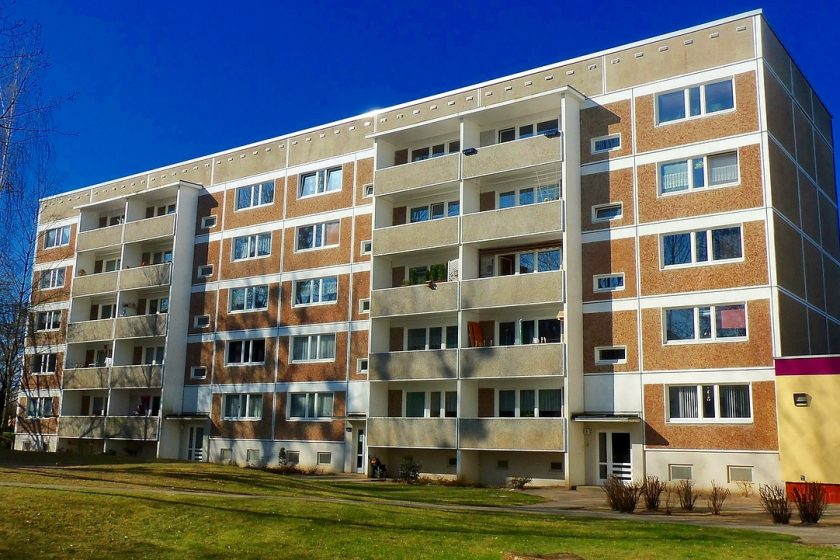 immeuble logements collectifs