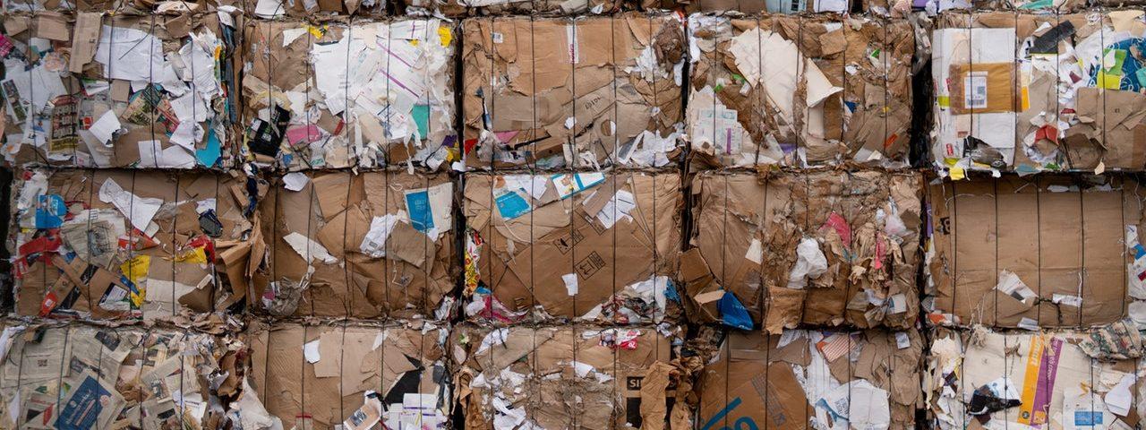 Blocs de déchets